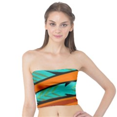Abstract Art Artistic Tube Top by Modern2018