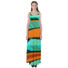 Abstract Art Artistic Empire Waist Maxi Dress by Modern2018