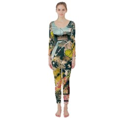 Abstract Art Berlin Long Sleeve Catsuit by Modern2018