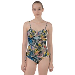 Abstract Art Berlin Sweetheart Tankini Set by Modern2018
