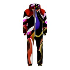 Abstract Full Colour Background Hooded Jumpsuit (kids) by Modern2018