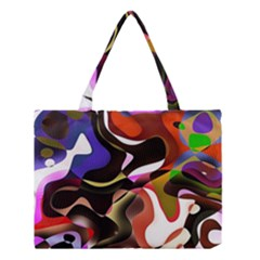 Abstract Full Colour Background Medium Tote Bag by Modern2018