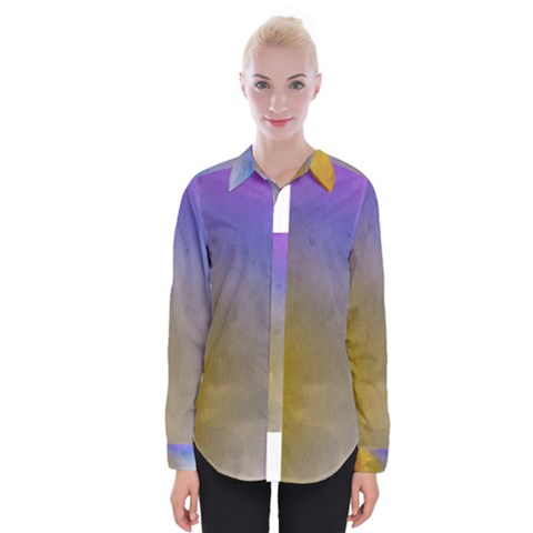 Abstract Smooth Background Womens Long Sleeve Shirt by Modern2018