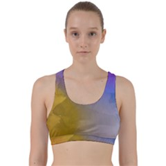 Abstract Smooth Background Back Weave Sports Bra by Modern2018
