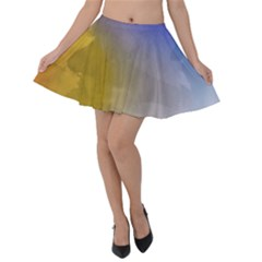 Abstract Smooth Background Velvet Skater Skirt by Modern2018