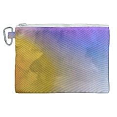 Abstract Smooth Background Canvas Cosmetic Bag (xl) by Modern2018