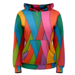 Abstract Background Colrful Women s Pullover Hoodie by Modern2018