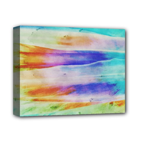 Background Color Splash Deluxe Canvas 14  X 11  by goodart