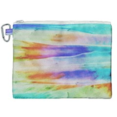 Background Color Splash Canvas Cosmetic Bag (xxl) by goodart