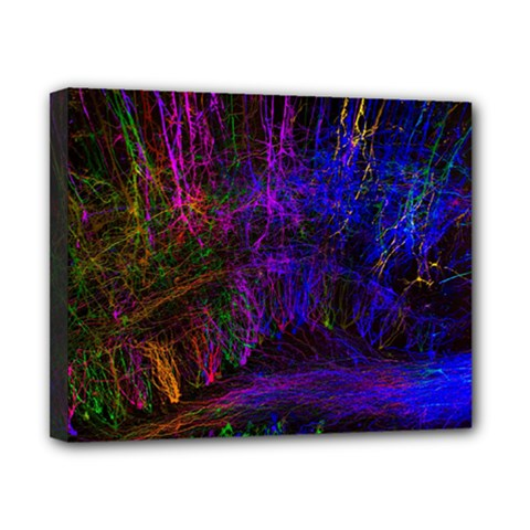 Color Splash Trail Canvas 10  X 8  by goodart