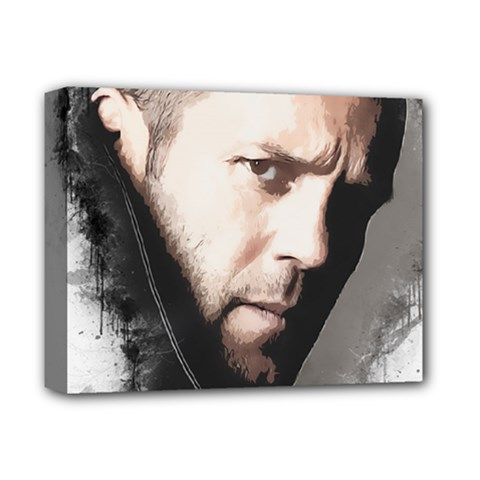 A Tribute To Jason Statham Deluxe Canvas 14  X 11  by Naumovski