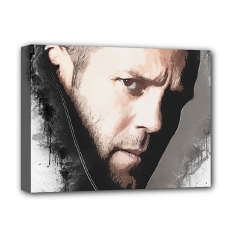 A Tribute To Jason Statham Deluxe Canvas 16  X 12   by Naumovski