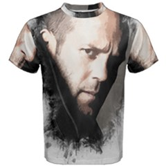 A Tribute To Jason Statham Men s Cotton Tee by Naumovski