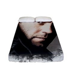 A Tribute To Jason Statham Fitted Sheet (full/ Double Size) by Naumovski