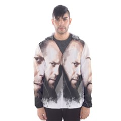 A Tribute To Jason Statham Hooded Wind Breaker (men) by Naumovski