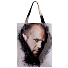 A Tribute To Jason Statham Zipper Classic Tote Bag by Naumovski