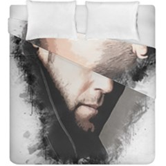 A Tribute To Jason Statham Duvet Cover Double Side (king Size) by Naumovski