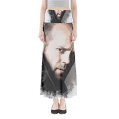 A Tribute To Jason Statham Full Length Maxi Skirt by Naumovski