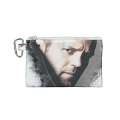 A Tribute To Jason Statham Canvas Cosmetic Bag (small) by Naumovski