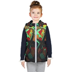 Girls Curiousity 12 Kid s Hooded Puffer Vest