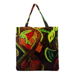 Girls Curiosity 4 Grocery Tote Bag by bestdesignintheworld