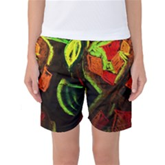 Girls Curiosity 4 Women s Basketball Shorts by bestdesignintheworld