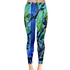 House Will Be Built 1 Inside Out Leggings by bestdesignintheworld