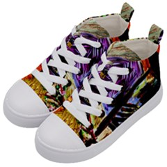 House Will Be Built 6 Kid s Mid Top Canvas Sneakers by bestdesignintheworld