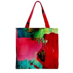 Humidity Zipper Grocery Tote Bag by bestdesignintheworld
