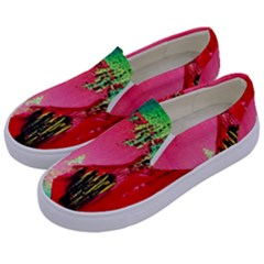 Humidity Kids  Canvas Slip Ons by bestdesignintheworld