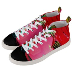 Humidity Men s Mid Top Canvas Sneakers by bestdesignintheworld