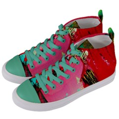 Humidity Women s Mid Top Canvas Sneakers by bestdesignintheworld