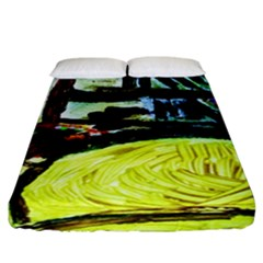 House Will Be Built 5 Fitted Sheet (california King Size) by bestdesignintheworld