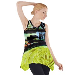 House Will Be Built 5 Side Drop Tank Tunic by bestdesignintheworld