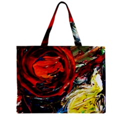 Sunset In A Mountains Zipper Mini Tote Bag by bestdesignintheworld