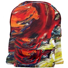 Sunset In A Mountains Giant Full Print Backpack by bestdesignintheworld