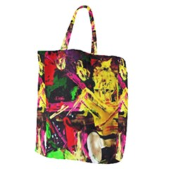 Spooky Attick 1 Giant Grocery Zipper Tote by bestdesignintheworld