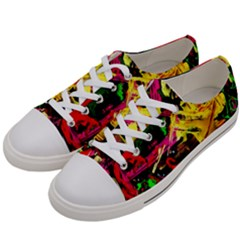 Spooky Attick 1 Women s Low Top Canvas Sneakers by bestdesignintheworld