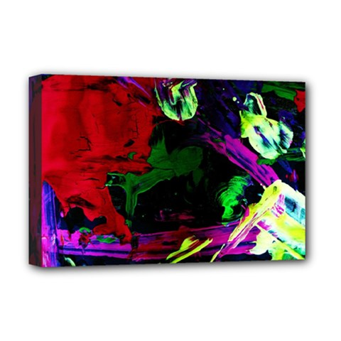 Spooky Attick 4 Deluxe Canvas 18  X 12   by bestdesignintheworld