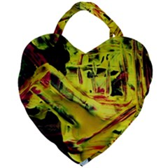 Spooky Attick 9 Giant Heart Shaped Tote by bestdesignintheworld