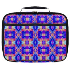 Artwork By Patrick Colorful 33 Full Print Lunch Bag by ArtworkByPatrick