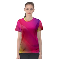 Background Wallpaper Design Texture Women s Sport Mesh Tee by Simbadda
