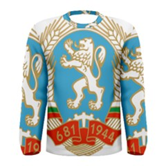 Coat Of Arms Of People s Republic Of Bulgaria, 1971-1990 Men s Long Sleeve Tee by abbeyz71