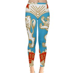 Coat Of Arms Of People s Republic Of Bulgaria, 1971 1990 Inside Out Leggings