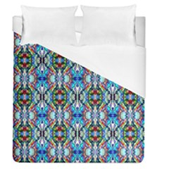 Artwork By Patrick Colorful 34 Duvet Cover (queen Size) by ArtworkByPatrick