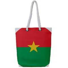 Roundel Of Burkina Faso Air Force Full Print Rope Handle Tote (small) by abbeyz71