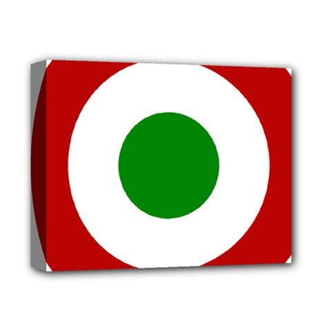 Roundel Of Burundi Air Force  Deluxe Canvas 14  X 11  by abbeyz71