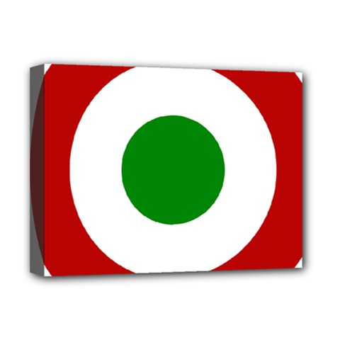 Roundel Of Burundi Air Force  Deluxe Canvas 16  X 12   by abbeyz71