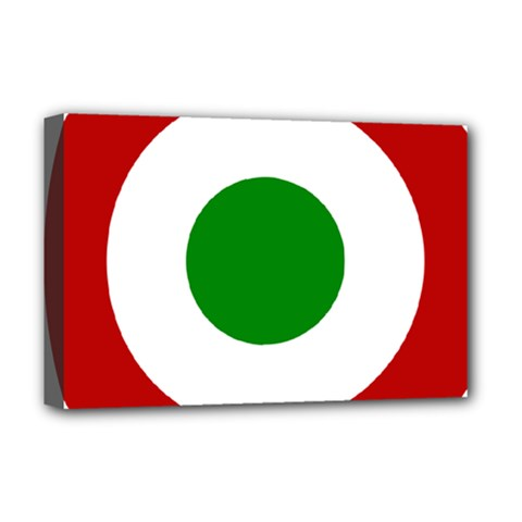 Roundel Of Burundi Air Force  Deluxe Canvas 18  X 12   by abbeyz71