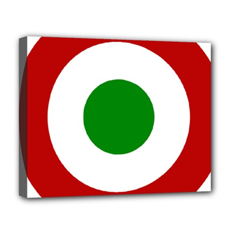 Roundel Of Burundi Air Force  Deluxe Canvas 20  X 16   by abbeyz71
